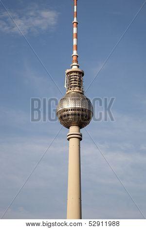 Fernsehturm Television Tower, Alexanderplatz; Berlin