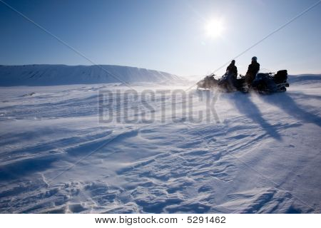 Winter Mountain Travel