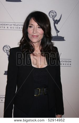 "LOS ANGELES - OCT 25:  Katey Sagal at the An Evening with ""Sons of Anarchy"" at Leonard H. Goldenson Theater at the Television Academy on October 25, 2013 in North Hollywood, CA"