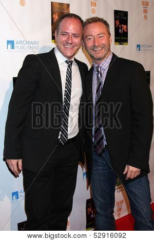 LOS ANGELES - OCT 21:  Michael Caprio, Randy Slovacek at the