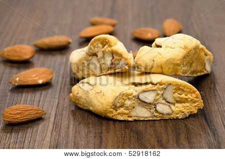 Cantuccini And Almonds