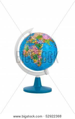Terrestrial Globe Isolated