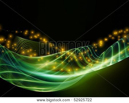 Lights Of Fractal Waves