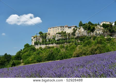 Sault In Provence, France