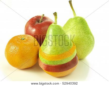 Dressed Fruits