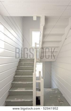 Stairways in an apartment