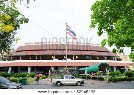 Mor Chit Bus Terminal Or Bangkok Bus Terminal (chatuchak)