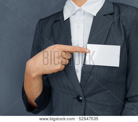 Nametag On The Chest, Copyspace