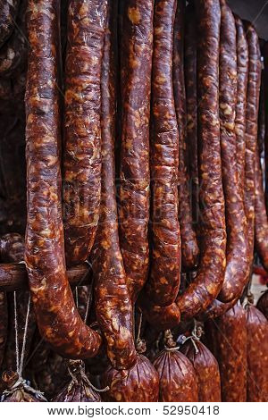 Romanian Sausages (carnati), Smoked And Dried-2