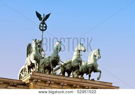 Brandenburger Tor, Quadriga