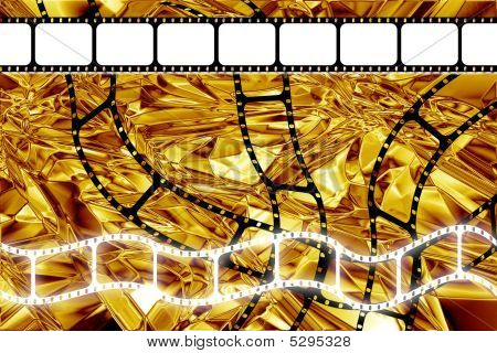 Golden Era Movie Film Reel Strip