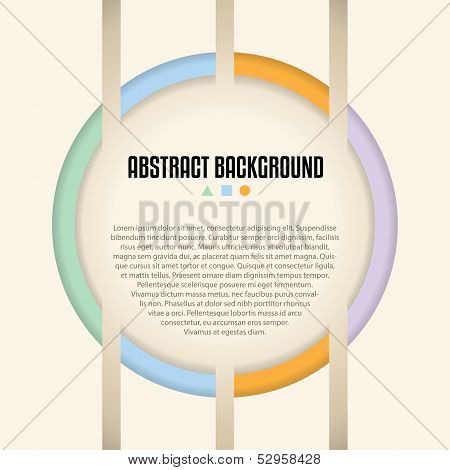Abstract Background Design With Shaps And Colors Ideal For Advertising