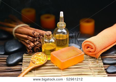 bath relaxation and body treatment