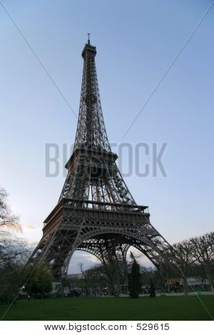 Early Evening Eiffel Tower