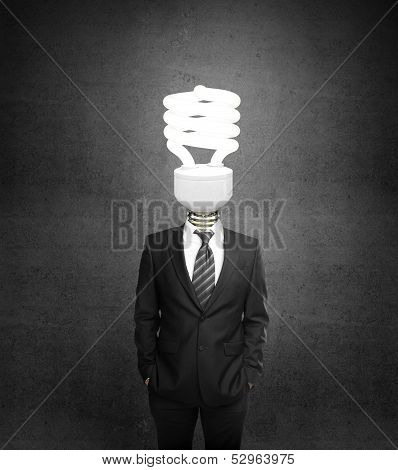Man With Lighbulb