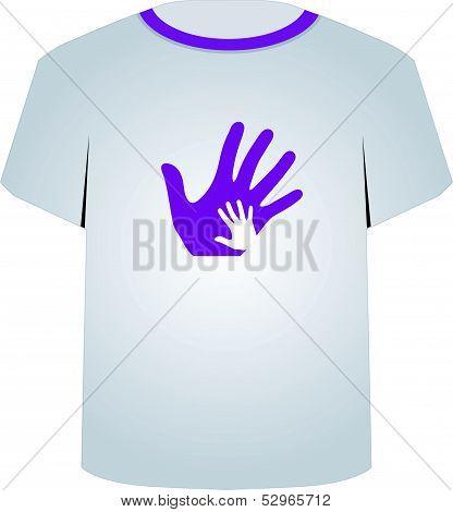 T Shirt Template- Pop art graphic