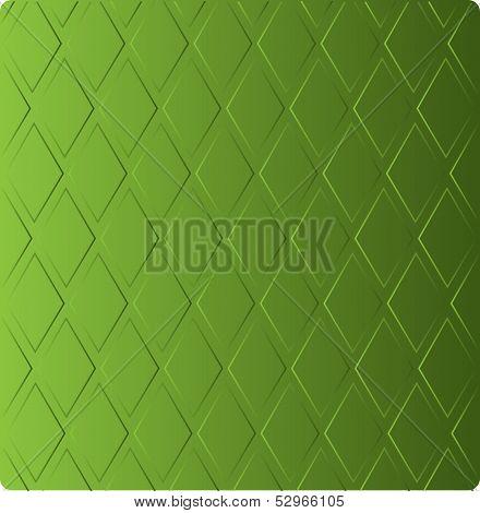 stylish grass green background in diamond-shaped ornamental patt