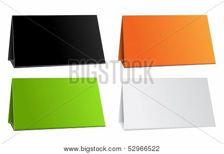 Color empty background for presentation calendar
