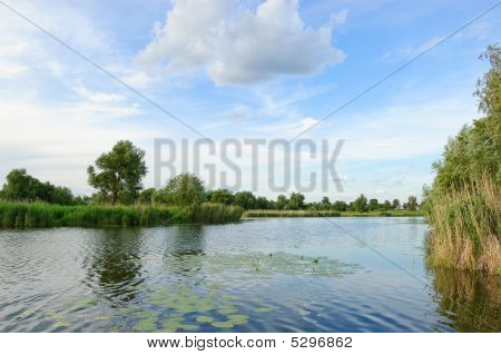 Typical Ukrainian Nature Landscape