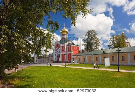 Valday, Russia - July 10: Iversky Monastery In The Novgorod Region On July 10, 2011, Valday, Russia.