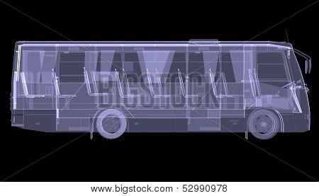 Big bus. X-ray