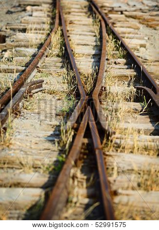 Switch On The Old Narrow-gauge Railway
