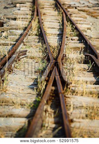 Switch On The Old Narrow-gauge Railway