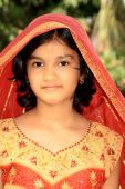 picture of rajasthani  - A beautiful Rajasthani girl with nice looks and ethnic dress - JPG