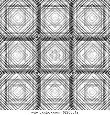 Design Seamless Diamond Trellis Pattern