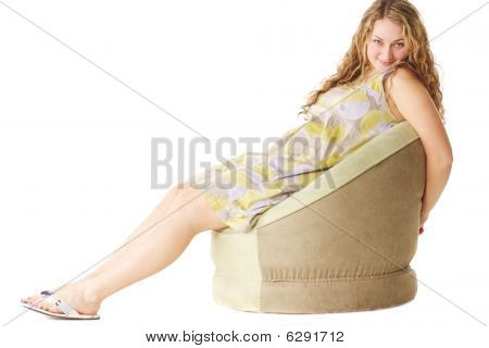 Arms Behind Chair