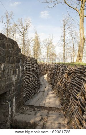 Bayernwald Trenches World War One Flanders Belgium