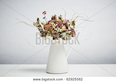Bridal Flowers Bridal Flowers Dried In Vase