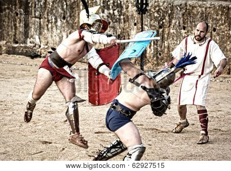 Gladiator Hard Blow