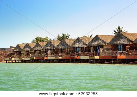 bungalows resort in El Gouna Egypt
