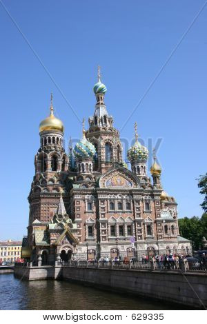 Church Of The Savior On The Spilt Blood, St Petersburg