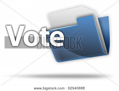 3D Style Folder Icon Vote