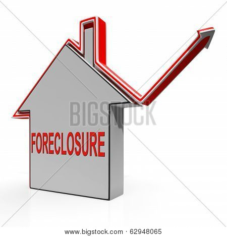 Foreclosure House Shows Lender Repossessing And Selling