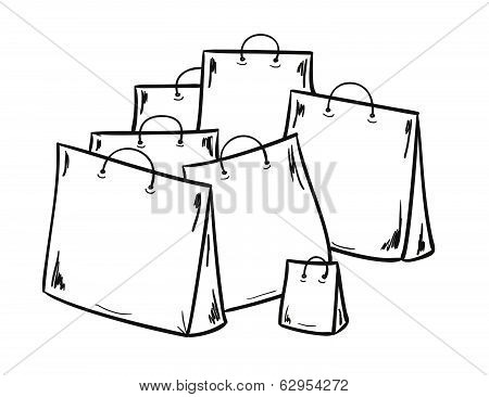 Few Bags For Shopping
