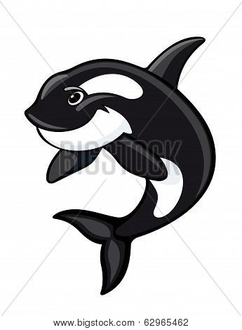 Whale Mascot