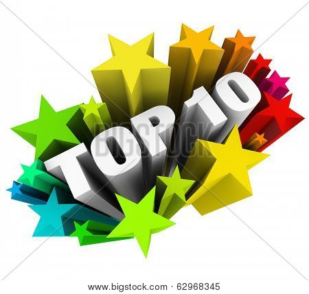 Top 10 Stars Ten Best Score Rating Review