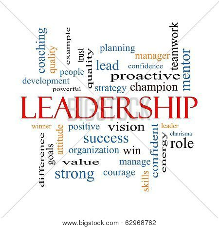 Leadership Word Cloud Concept