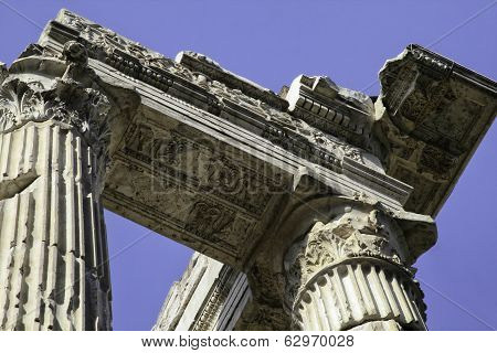 Portico Of Octavia, Rome, Italy