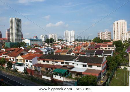 Singapore housing area