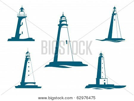 Lighthouse towers