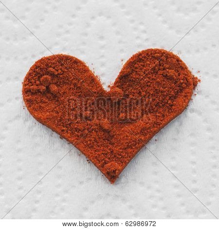 Heart Of Red Chili