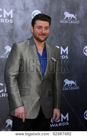 LAS VEGAS - APR 6:  Chris Young at the 2014 Academy of Country Music Awards - Arrivals at MGM Grand Garden Arena on April 6, 2014 in Las Vegas, NV