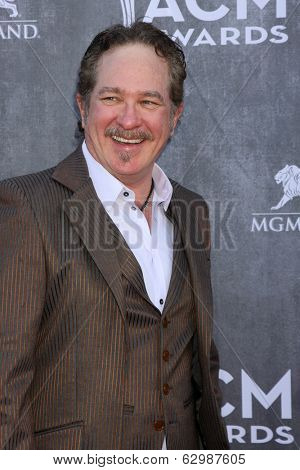 LAS VEGAS - APR 6:  Kix Brooks at the 2014 Academy of Country Music Awards - Arrivals at MGM Grand Garden Arena on April 6, 2014 in Las Vegas, NV