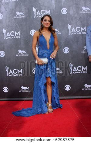 LAS VEGAS - APR 6:  Natalia Starzynski at the 2014 Academy of Country Music Awards - Arrivals at MGM Grand Garden Arena on April 6, 2014 in Las Vegas, NV