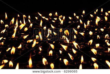 Buddhist Lamps