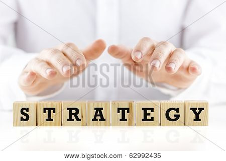 Conceptual Image With The Word Strategy